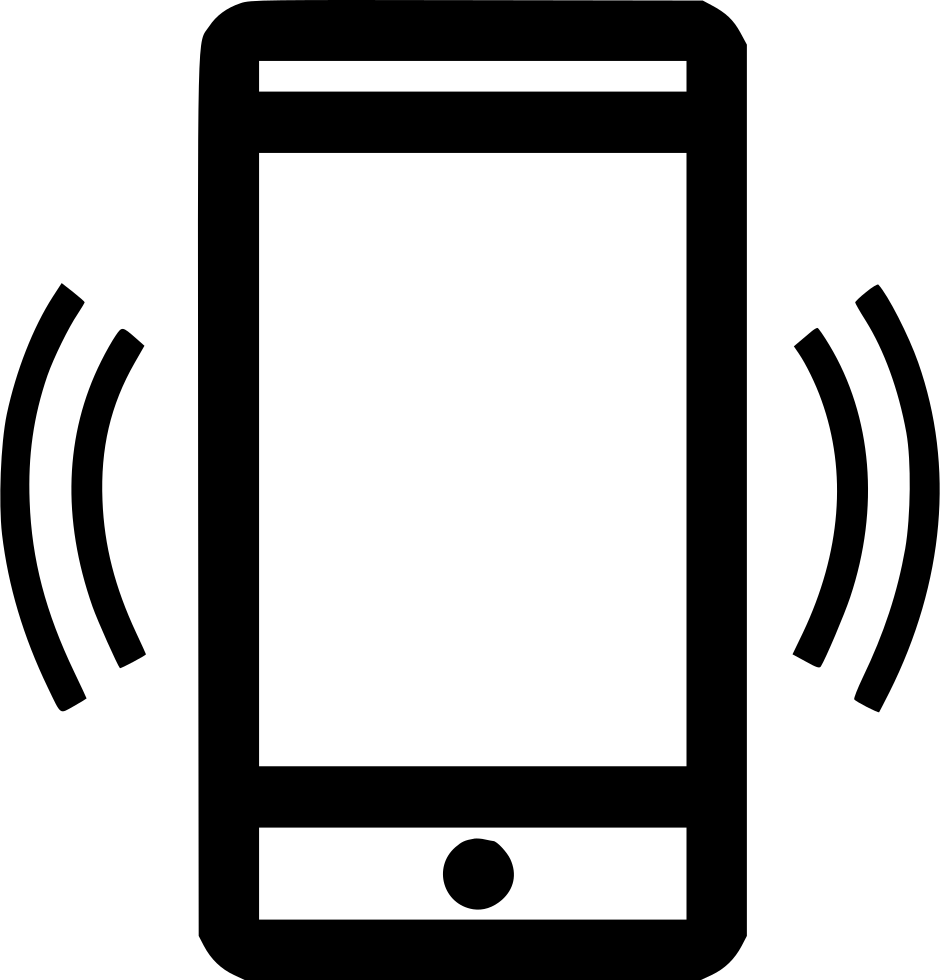 Cell phone png icon. Signal svg free download