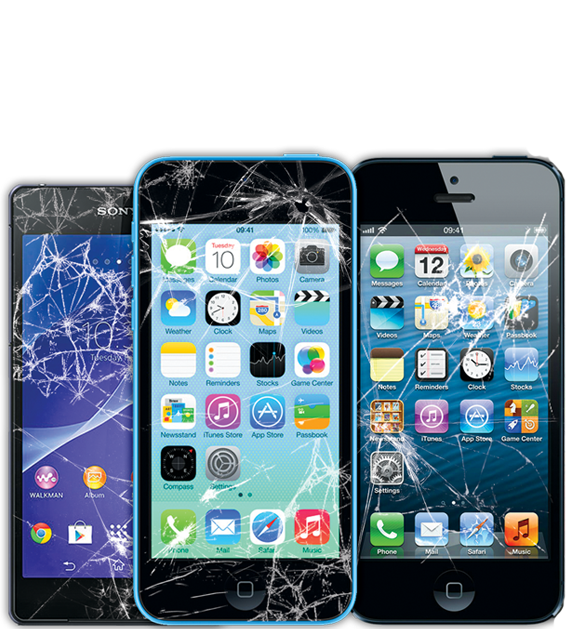 Cell phone repair png. Screen mobile and tablet