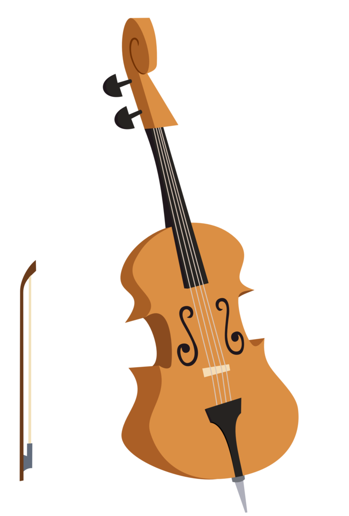 Cello vector transparent background. Artist the smiling