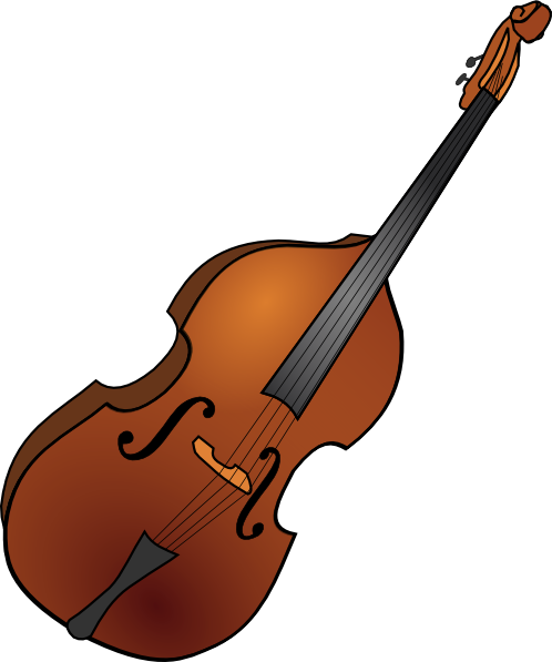 Cello vector stand up bass. Upright silhouette at getdrawings