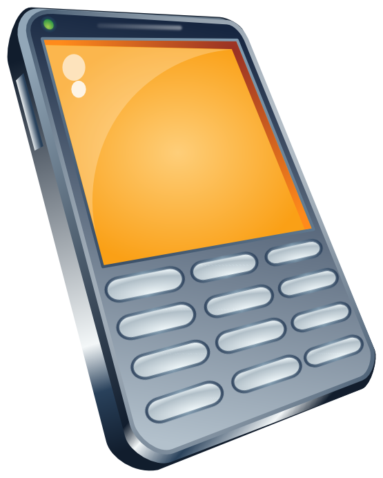Cellphone clipart png. Cell phone pink