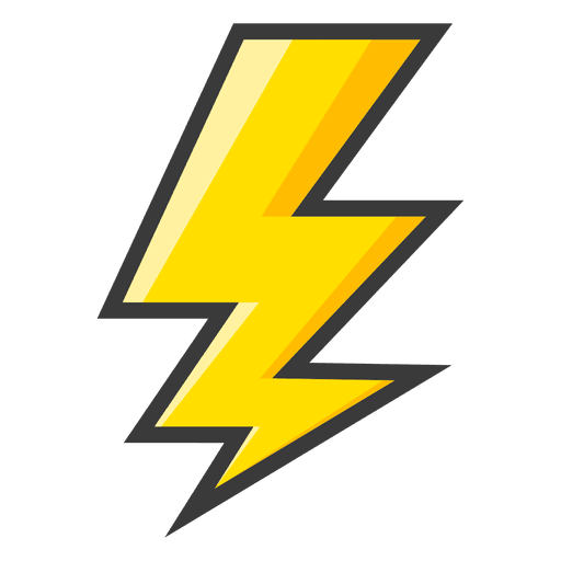 Cellphone electric bolt icon png. Lightning yellow symbol transparent