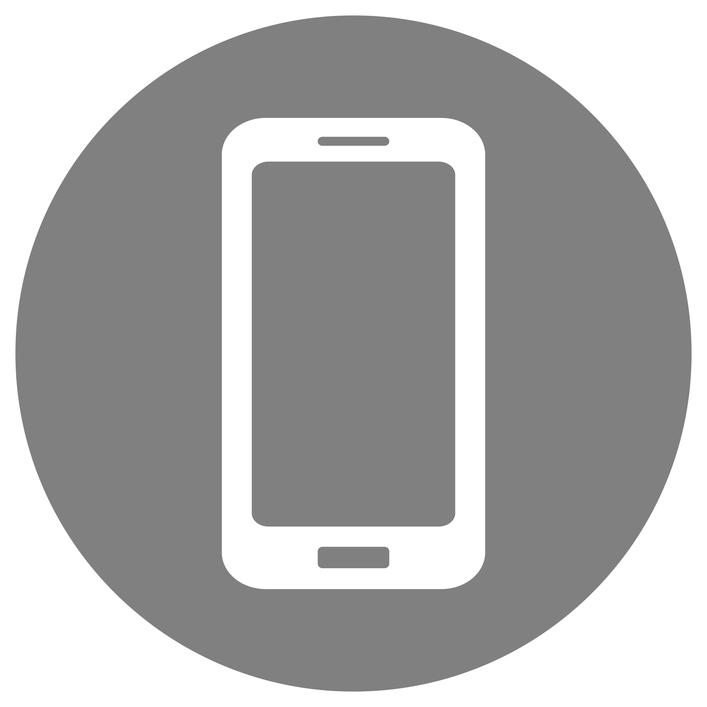 Cellphone icon png white. Mobile on grey icons