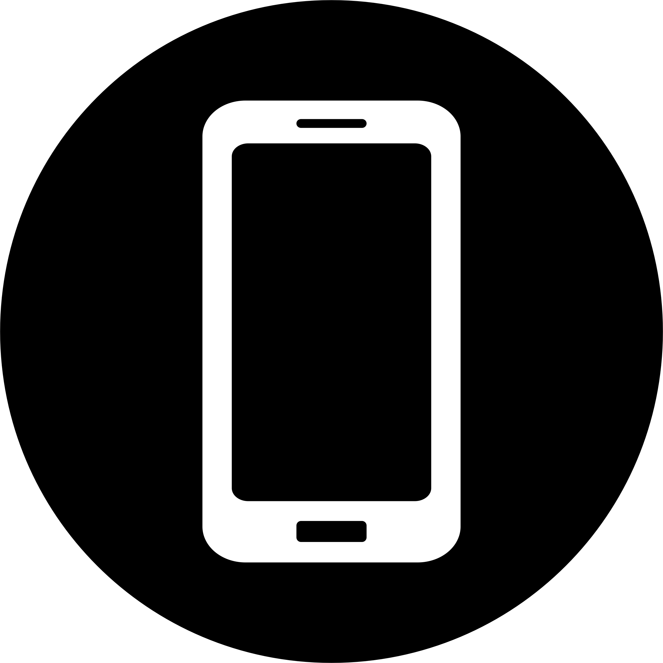 Cellphone icon white png. Mobile on black engosoft