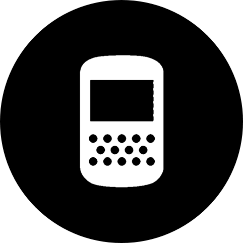 Cellphone icon white png. Icons for free apps