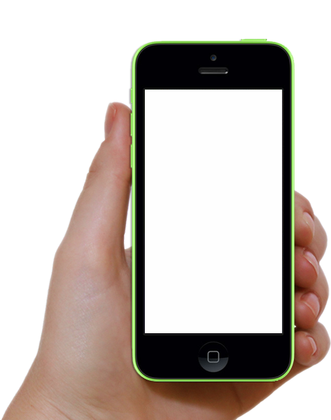 Cellphone transparent used. Png mobile phone images