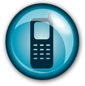 Cellphone logo png. Cell phone icon free