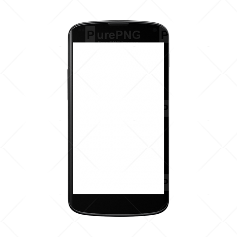 Smartphone mobile images vector. Cellphone transparent phoneclip art vector royalty free