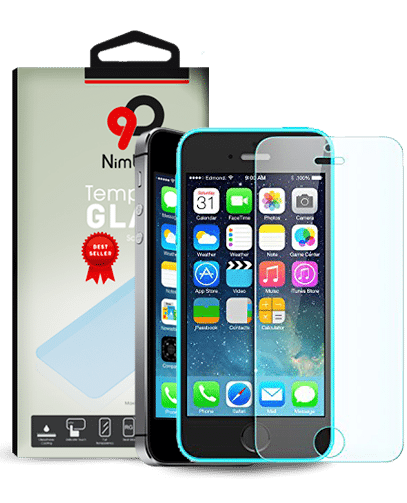 Cellphone transparent invisible. Iphone se tempered glass