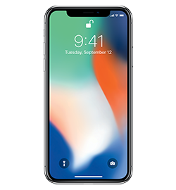 Cellphone transparent late. Iphone x apple tech