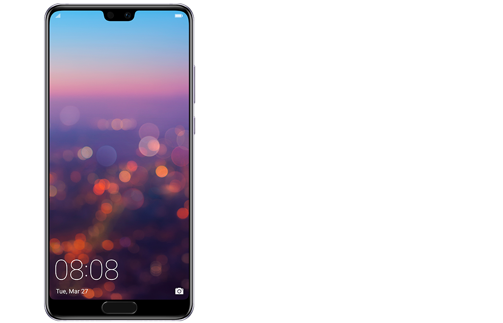 Cellphone transparent oled. Huawei p pro smartphone
