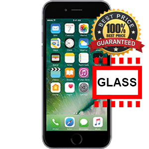 Cellphone transparent real glass. Iphone repair xg cell