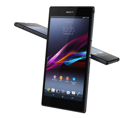 Cellphone transparent display. The new xperia z
