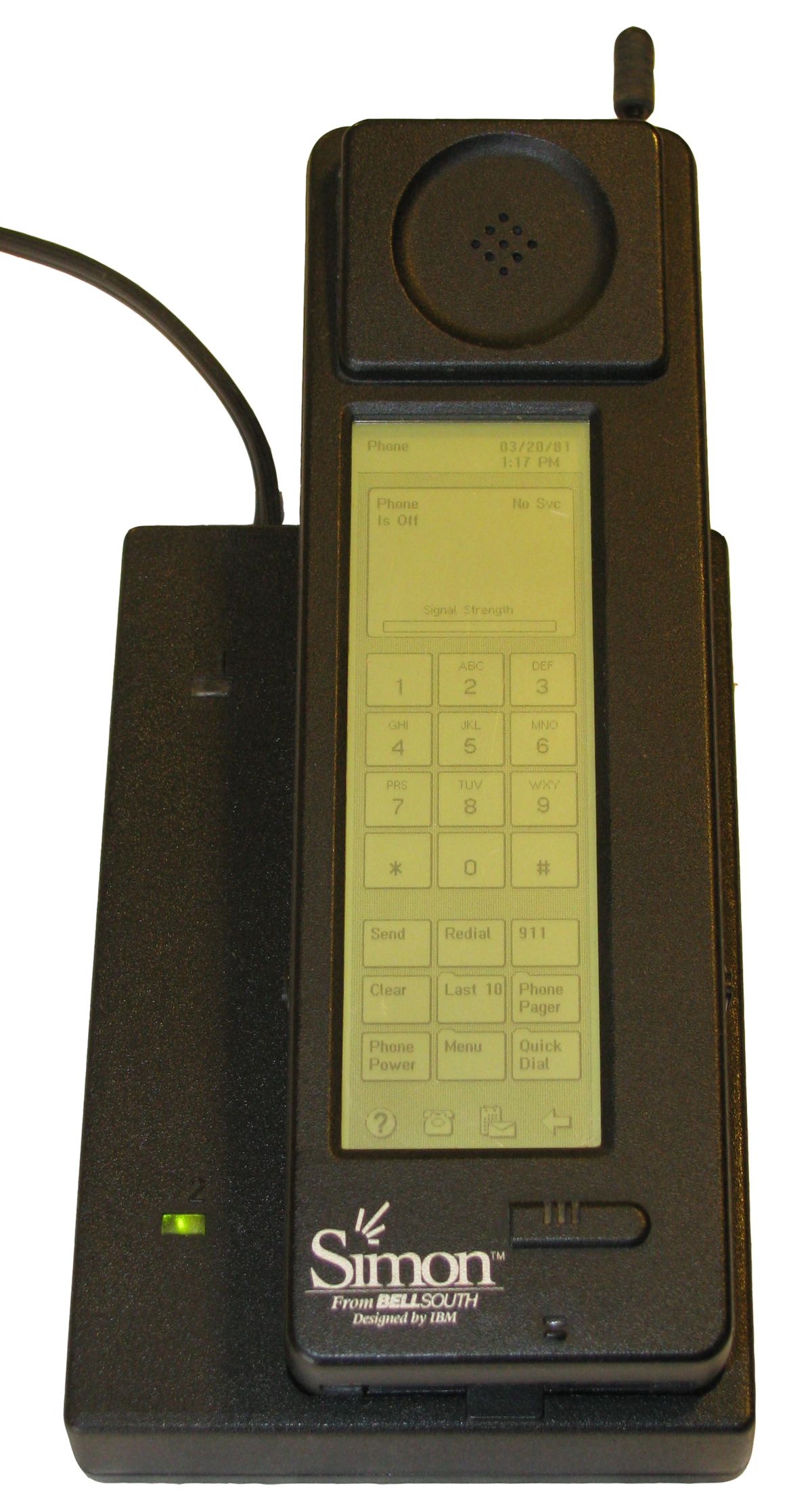 Cellphone transparent world 1st. Ibm simon wikipedia