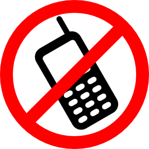 No cell phones allowed. Phone clipart mobile phone user image library