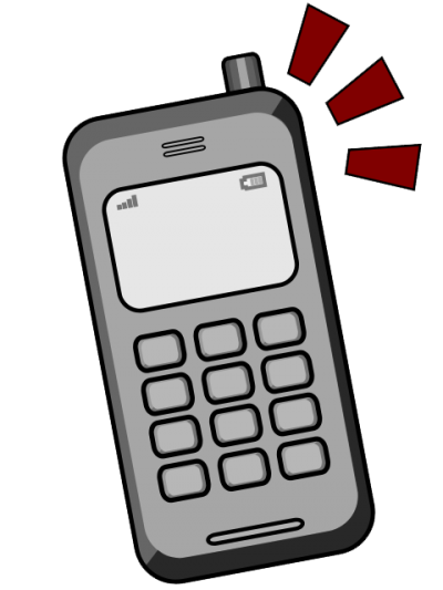 Cell phones ringing phone. Cells clipart phoneclip art svg