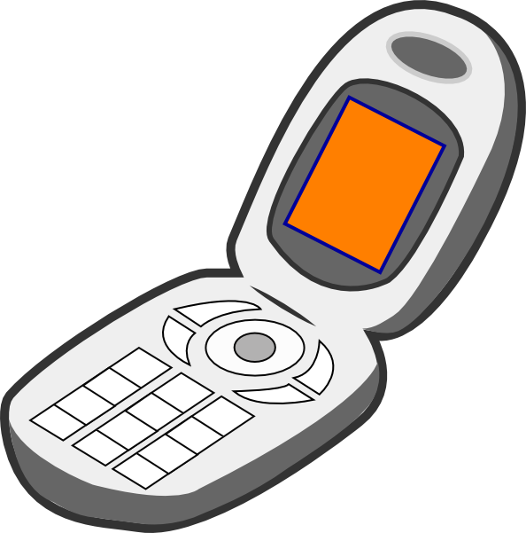 Cell of . Phone clipart mobile phone user clip transparent stock
