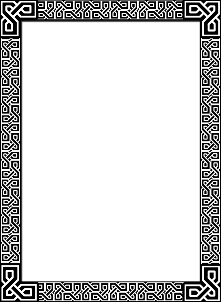 Rectangle border png. Celtic by acorntail on