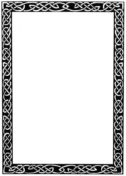Celtic clipart divider. Border the current projects