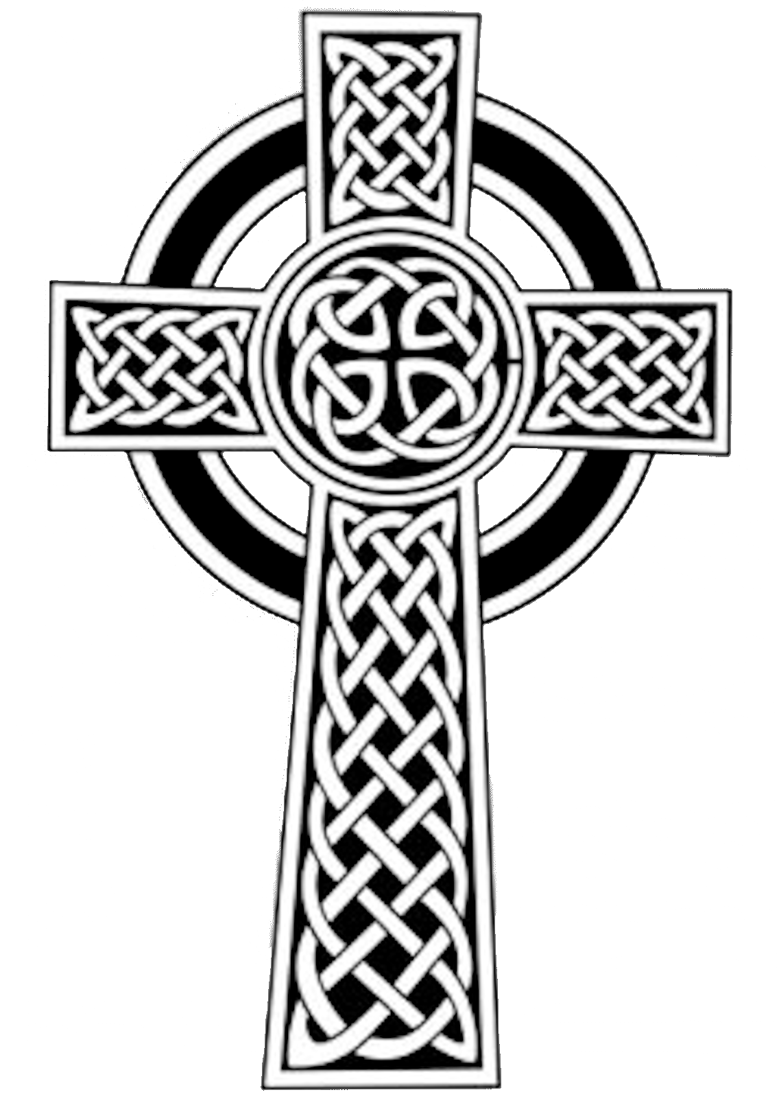 crucifix vector filigree cross