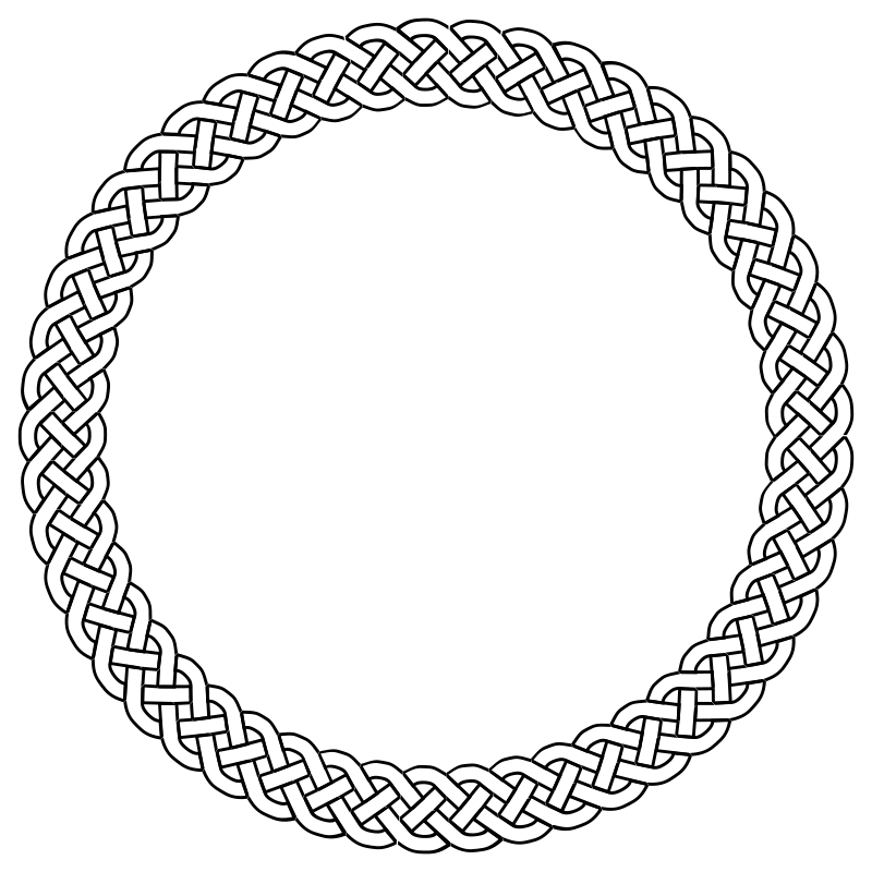 Celtic knot circle png. Round border google search