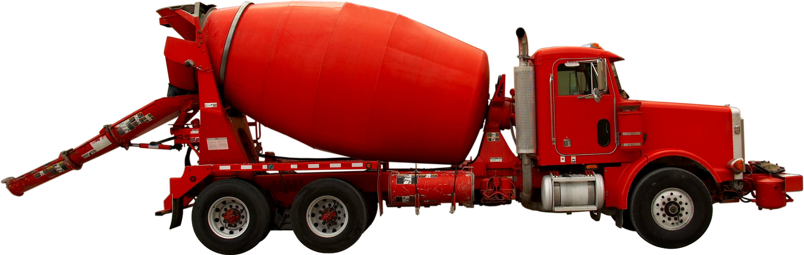 Cement truck png. File red mixer wikimedia