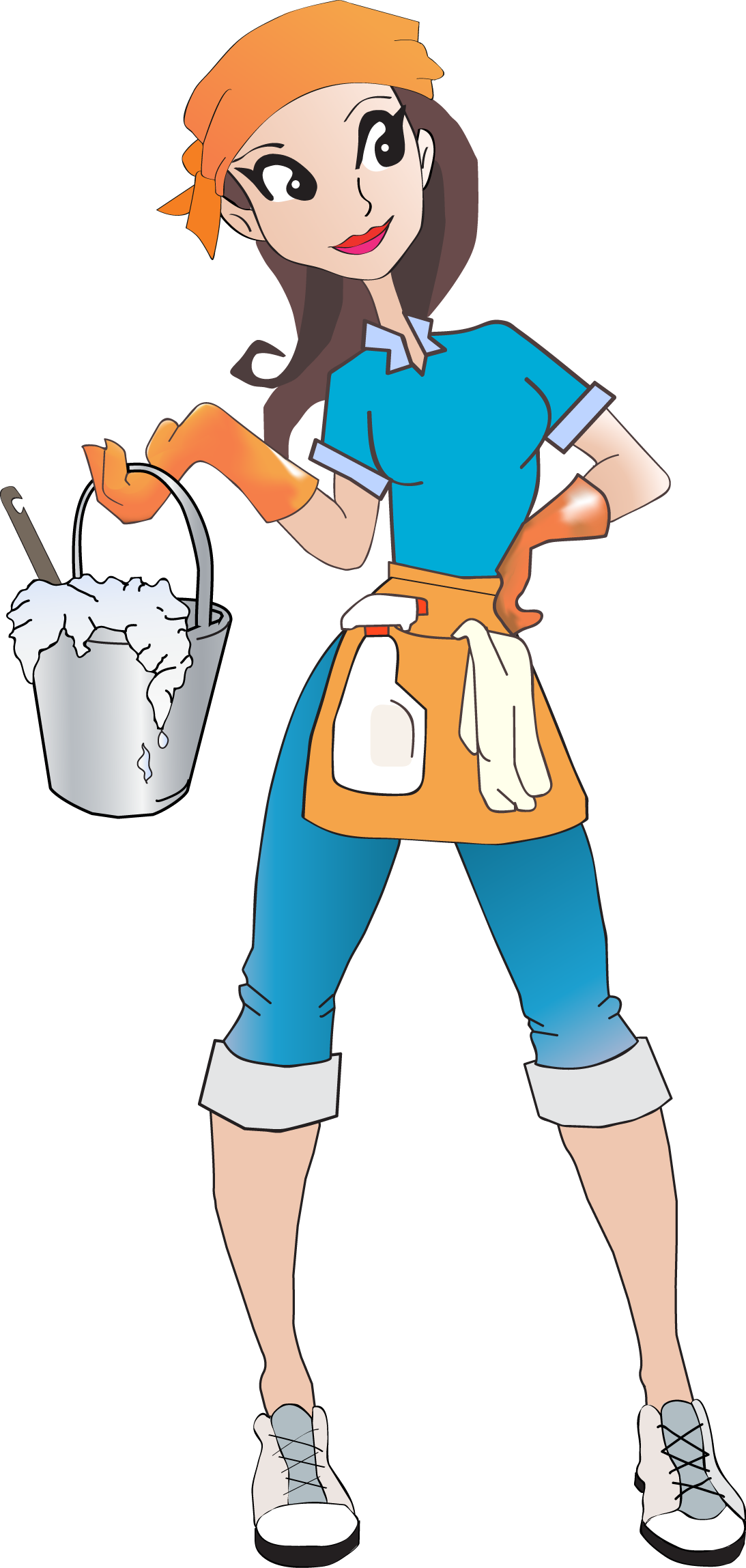 Center clipart housekeeping center. House and home cleaning