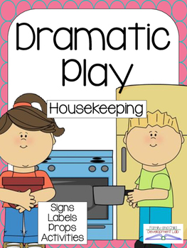 Center clipart housekeeping center. House dramatic play tpt