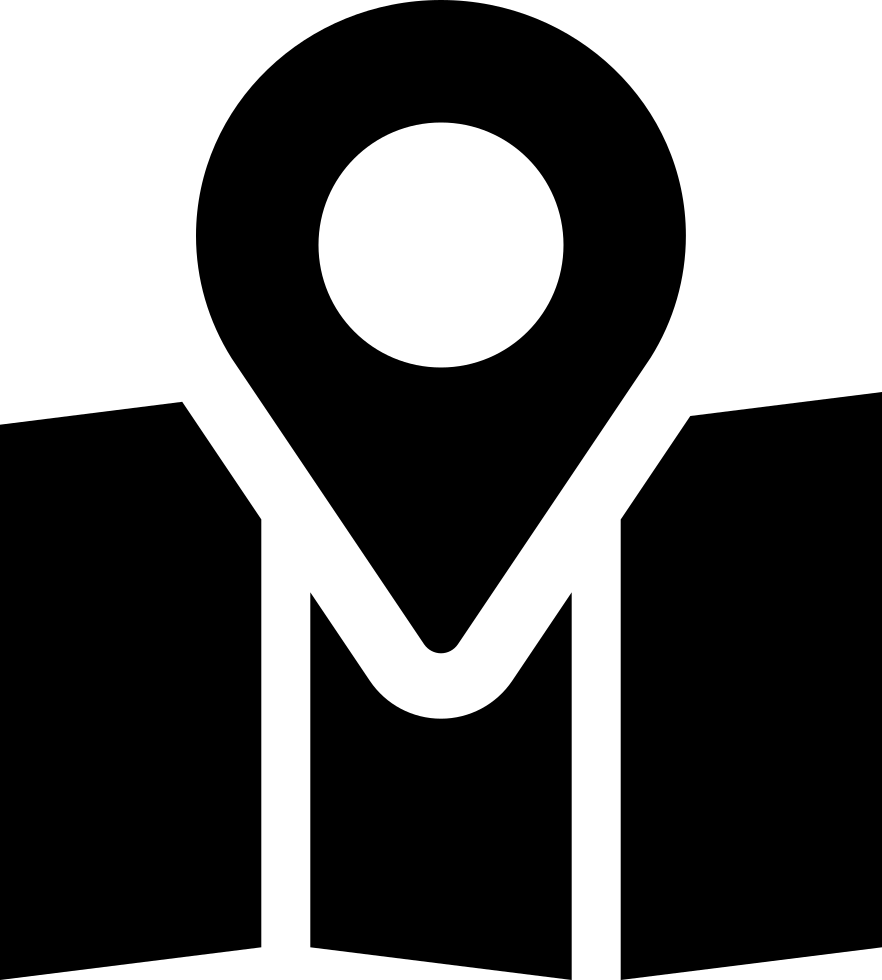 Center svg. Map location png icon