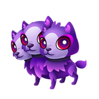 Cerberus transparent baby. Fantasy forest story wiki