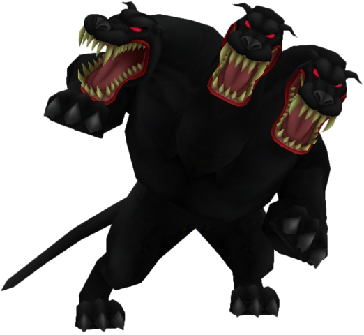 Cerberus transparent kingdom hearts. Image action render khii
