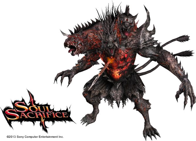 Cerberus transparent outline. Toukiden the age of
