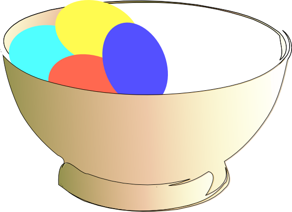 Cereal bowl clipart png. Of easter eggs clip