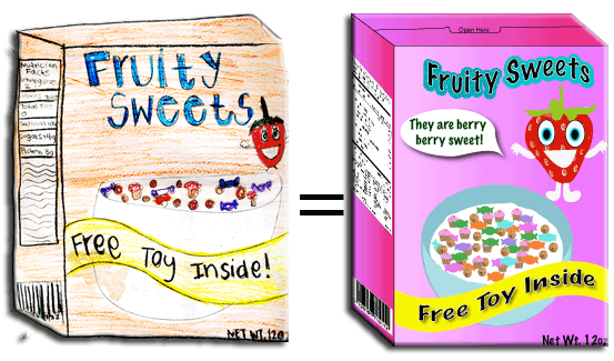 cereal box drawings png