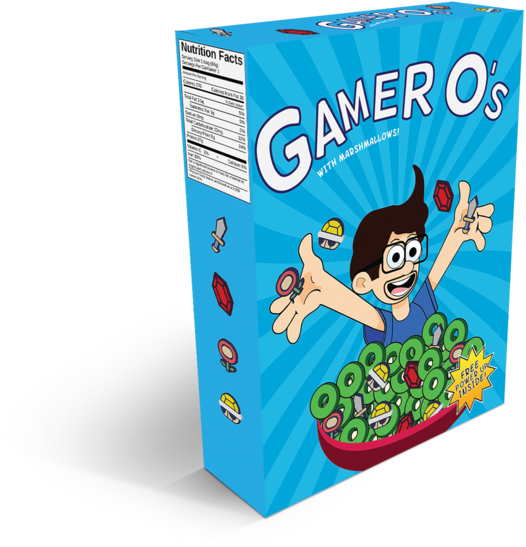 Download hd gamer o. Transparent cereal cartoon graphic transparent stock