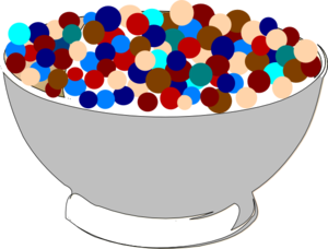 Cereal clipart. Bowl of clip art