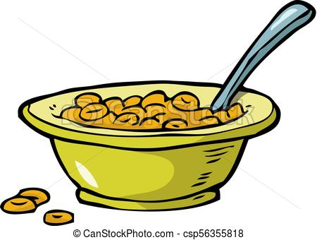 Cereal clipart. Plate of on a clip art transparent