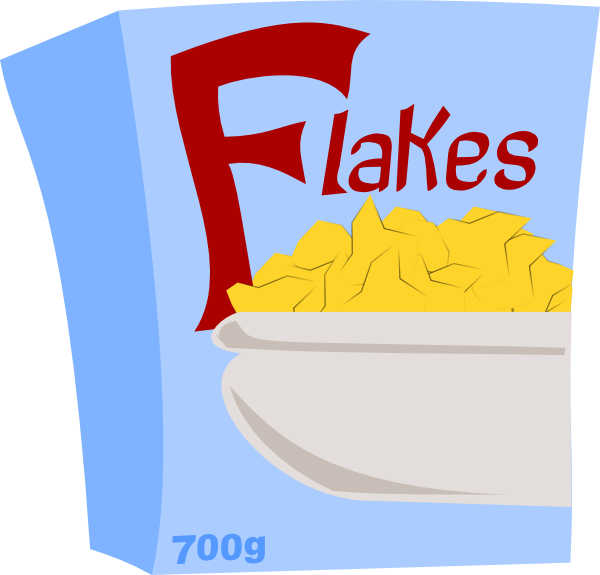 Cereal clipart png. Flakes clip art at