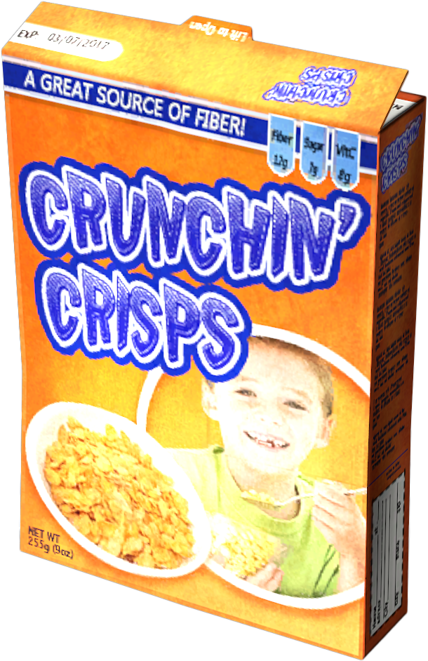 Cereal cover png. Crunchin crisps dayz wiki
