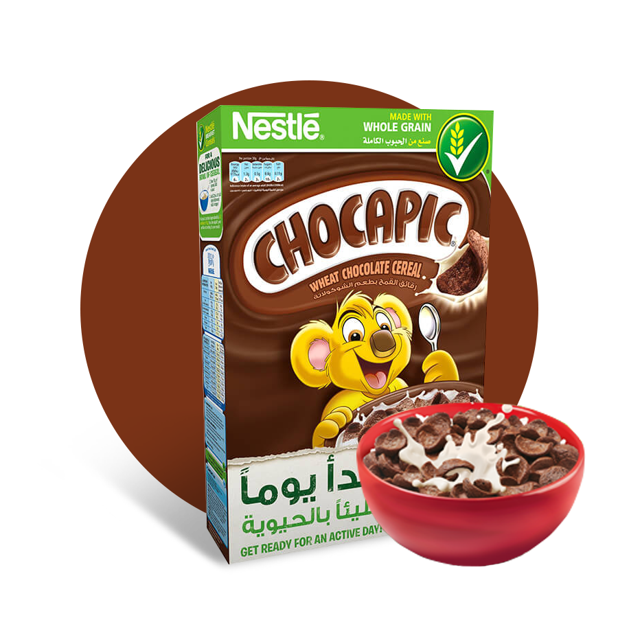 Cereal cover png. Nestl chocapic chocolate breakfast