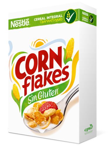Cereal png. Corn flakes product nestle