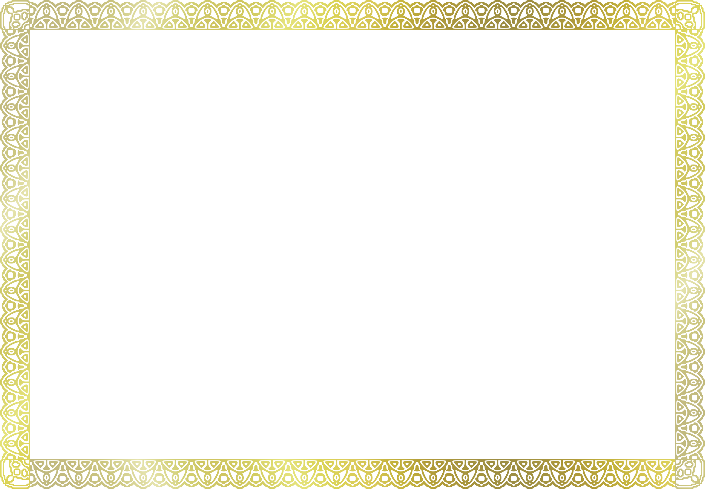 Certificate border png. Clipart a size big