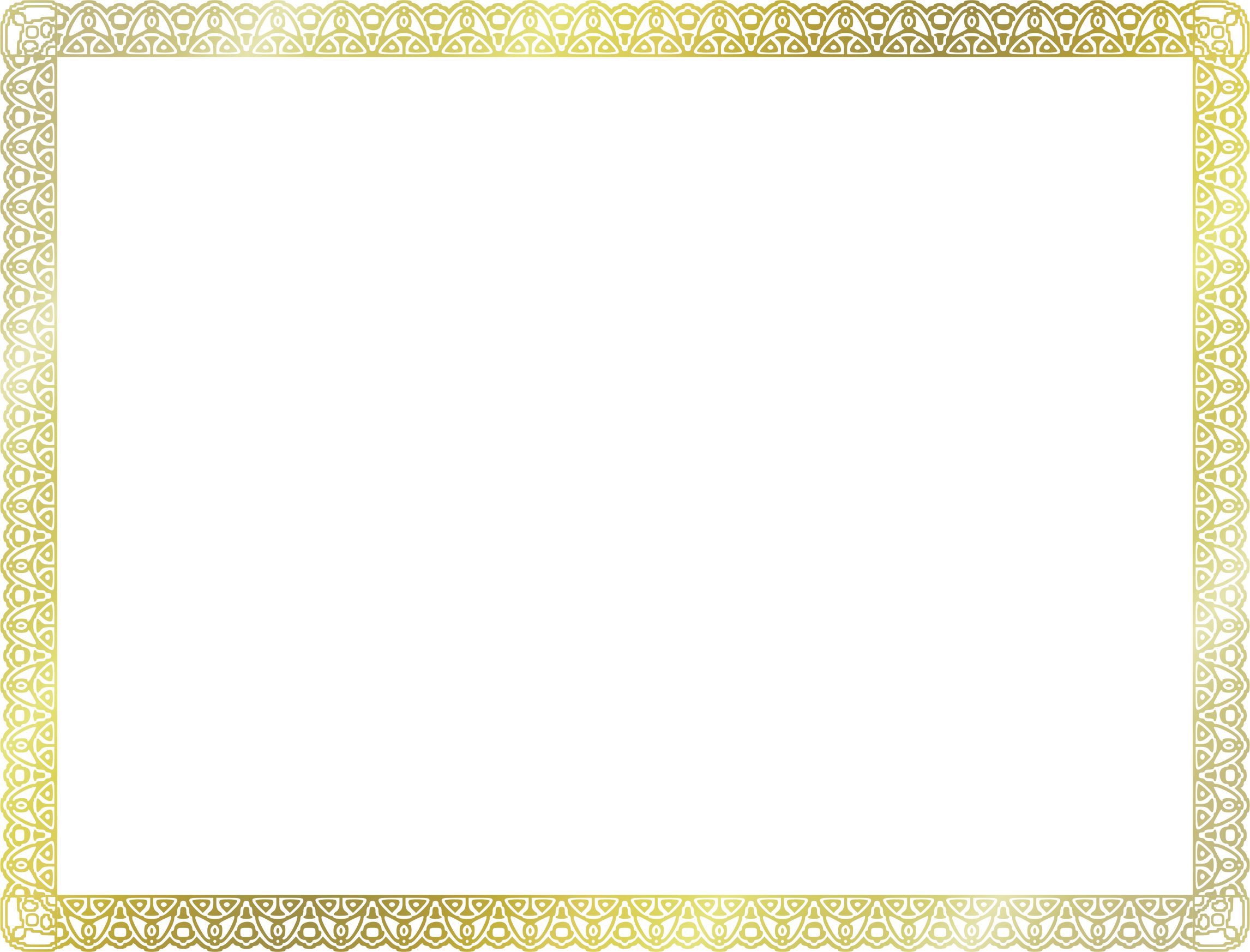 Certificate border png. Clipart us size big