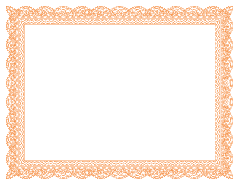 Certificate borders png. Formatted templates sampleresume