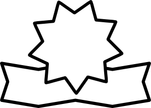 Vector award line art. Free outline cliparts download