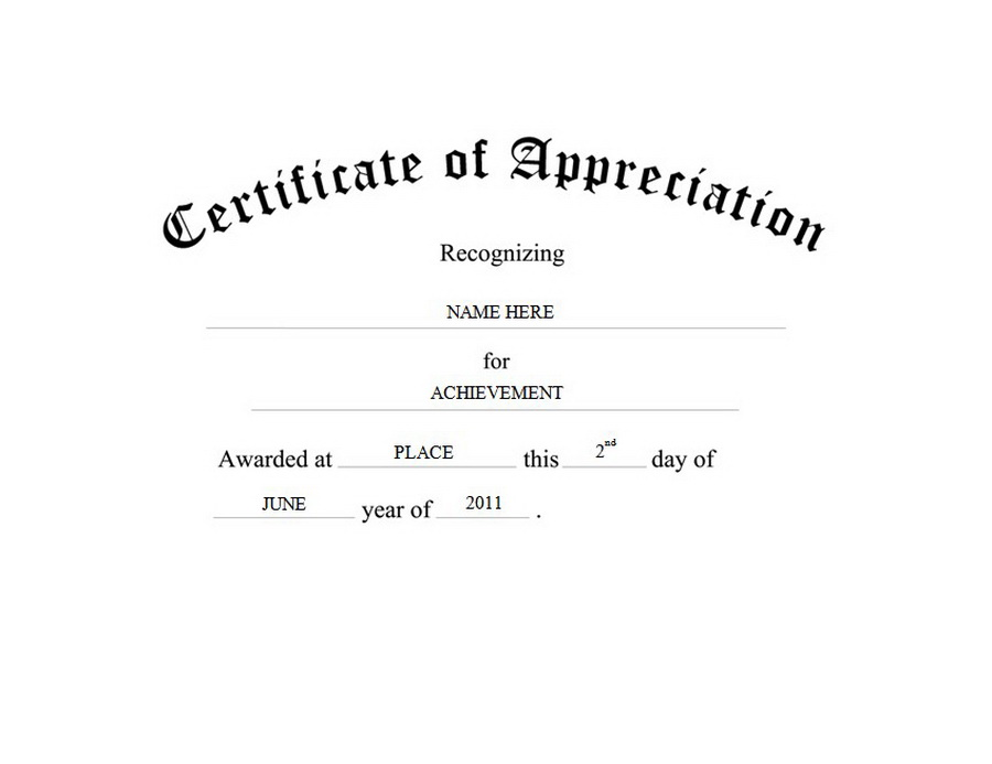 Certificate clipart certificate appreciation. Of free template templates