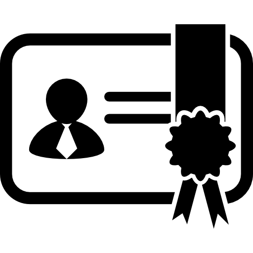 Certificate clipart certificate symbol. Variant with image icons
