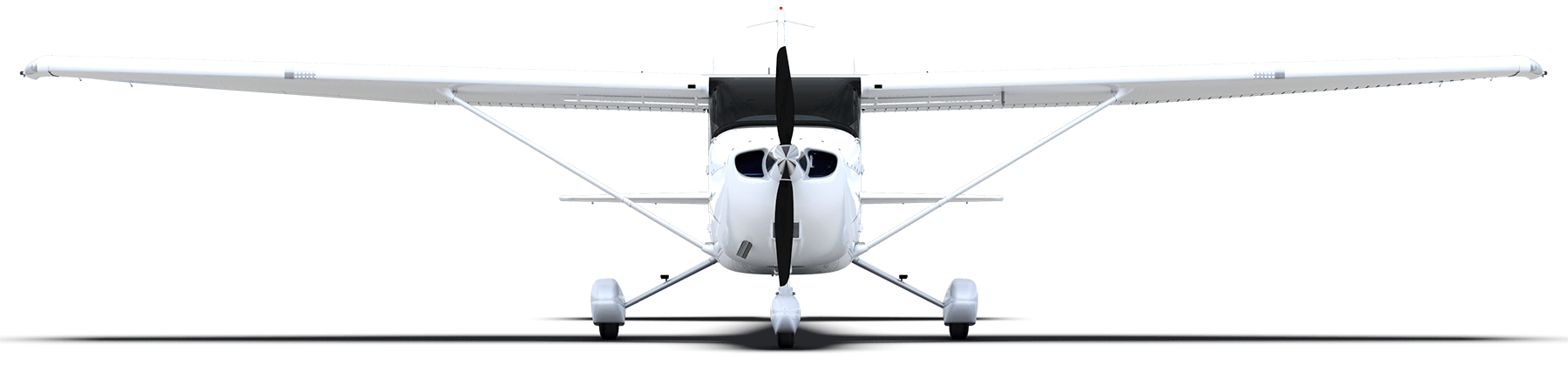 Cessna drawing icon. Skyhawk airborne solutions