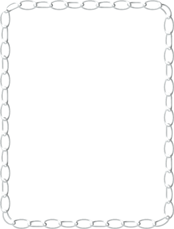 Card borders png. Chain clipart border google