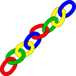 Chain clipart. Paper link